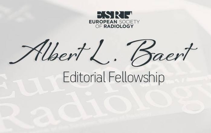 ESR Albert L. Baert Editorial Fellowship 2018